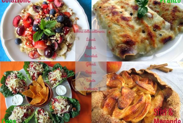 Menu dieta Weight Watchers a 26 punti Propoints, esempio 2, Mangia senza Pancia