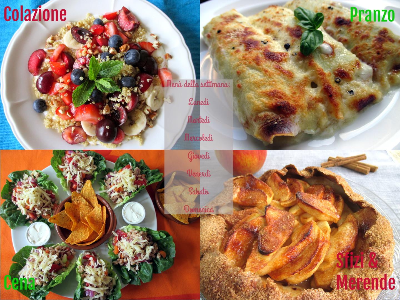 menu dieta punti liberi