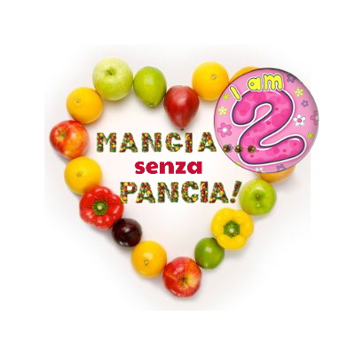 diario 12 agosto 2014 - 2 anni di blog, Mangia senza Pancia