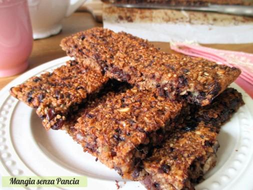 Barrette quinoa e cereali, Mangia senza Pancia