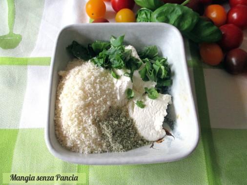 Torta salata pomodorini e ricotta, Mangia senza Pancia