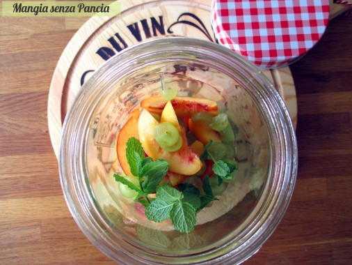 Bevanda depurativa uva e menta, Mangia senza Pancia