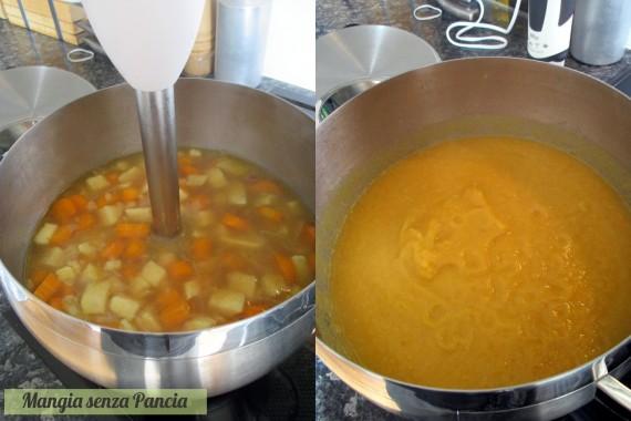 Vellutata di carote al profumo di cocco, Mangia senza Pancia