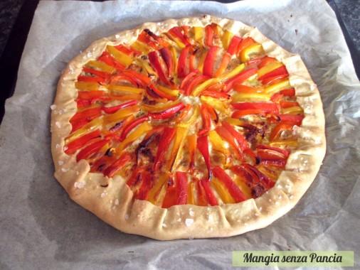 Torta salata peperoni e provolone, Mangia senza Pancia