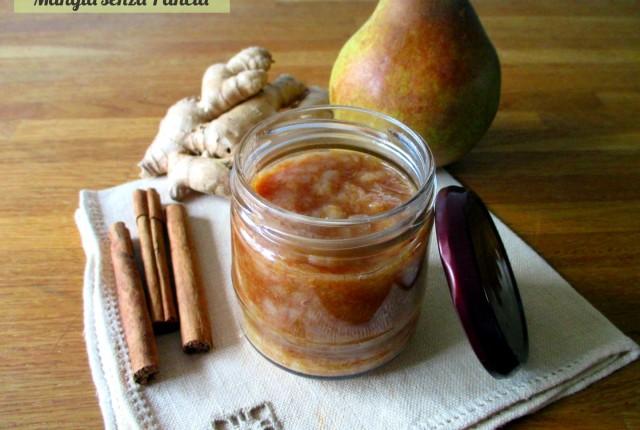 Composta pere zenzero e cannella, Mangia senza Pancia