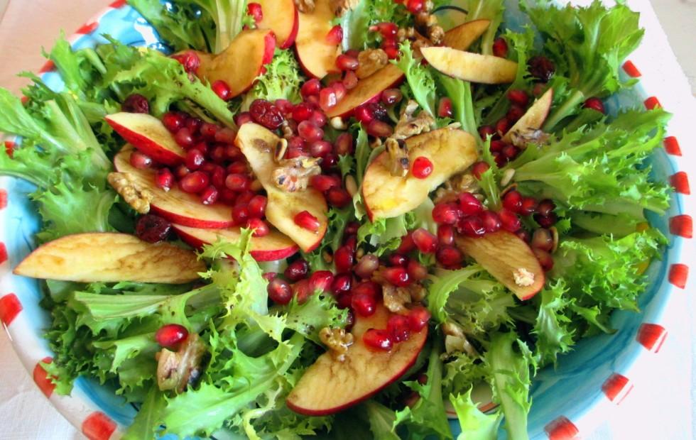 Insalata di scarola con frutta e noci, Mangia senza Pancia