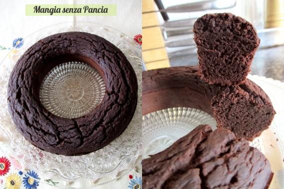 Brownie senza farina al cacao, versione fornetto Versilia, Mangia senza Pancia