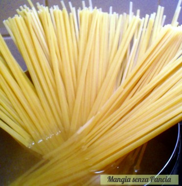 Pasta con cime di rapa aglio olio e peperoncino, Mangia senza Pancia
