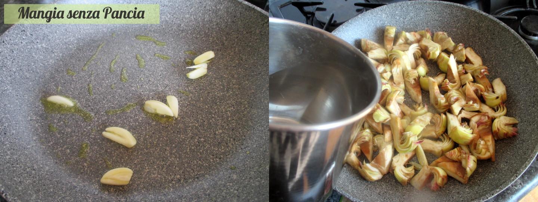 Pasta e carciofi light - Mangia senza Pancia