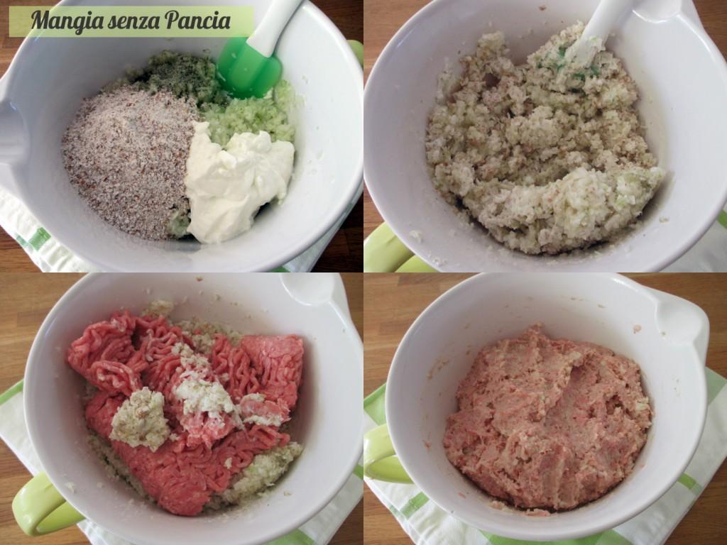 Polpettine carne e finocchio al forno senza uova o olio, Mangia senza Pancia