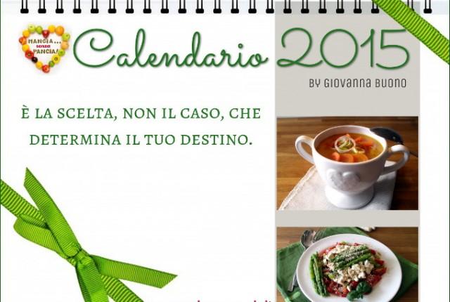 Calendario 2015, Mangia senza Pancia