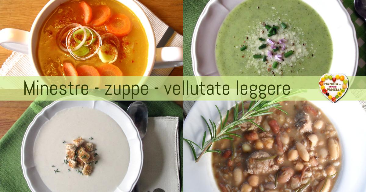 Minestre light: zuppe, creme e vellutate, Mangia senza Pancia