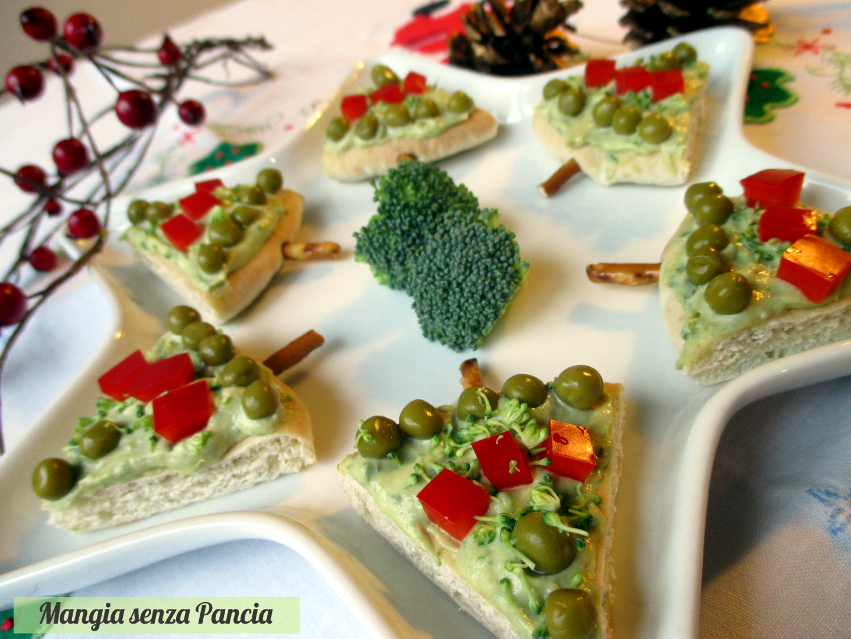 Alberelli di pane pita natalizi mangia senza pancia for Alberelli di natale