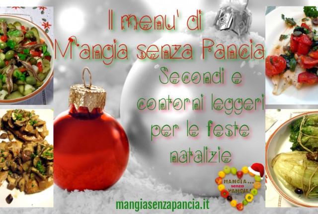 Secondi e contorni leggeri Natale e feste 2014, Mangia senza Pancia
