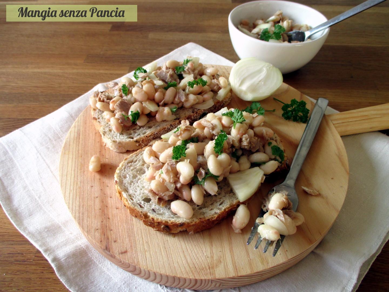 Fagioli e tonno all'insalata, Mangia senza Pancia