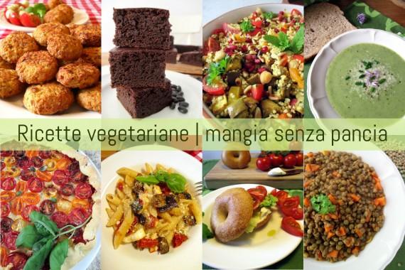 Ricette vegetariane light (latto-ovo), Mangia senza Pancia