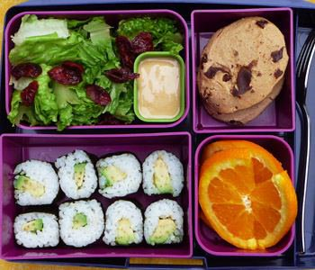 Ricette da picnic e da asporto leggere, bento box, Mangia senza Pancia