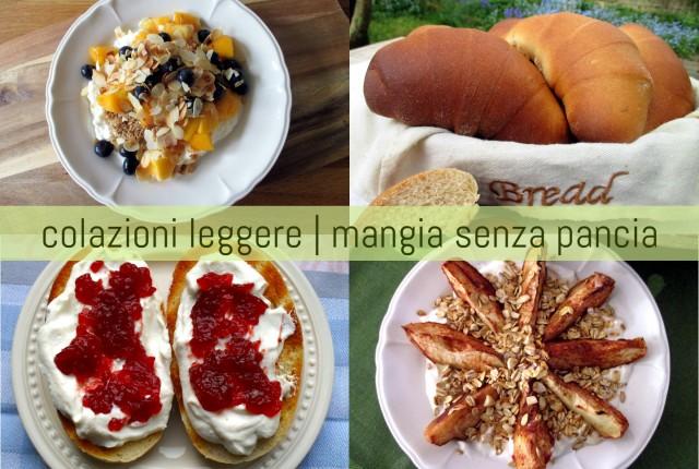 Colazioni leggere e sane, Mangia senza Pancia