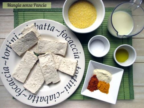 Bastoncini di tofu croccanti, Mangia senza Pancia