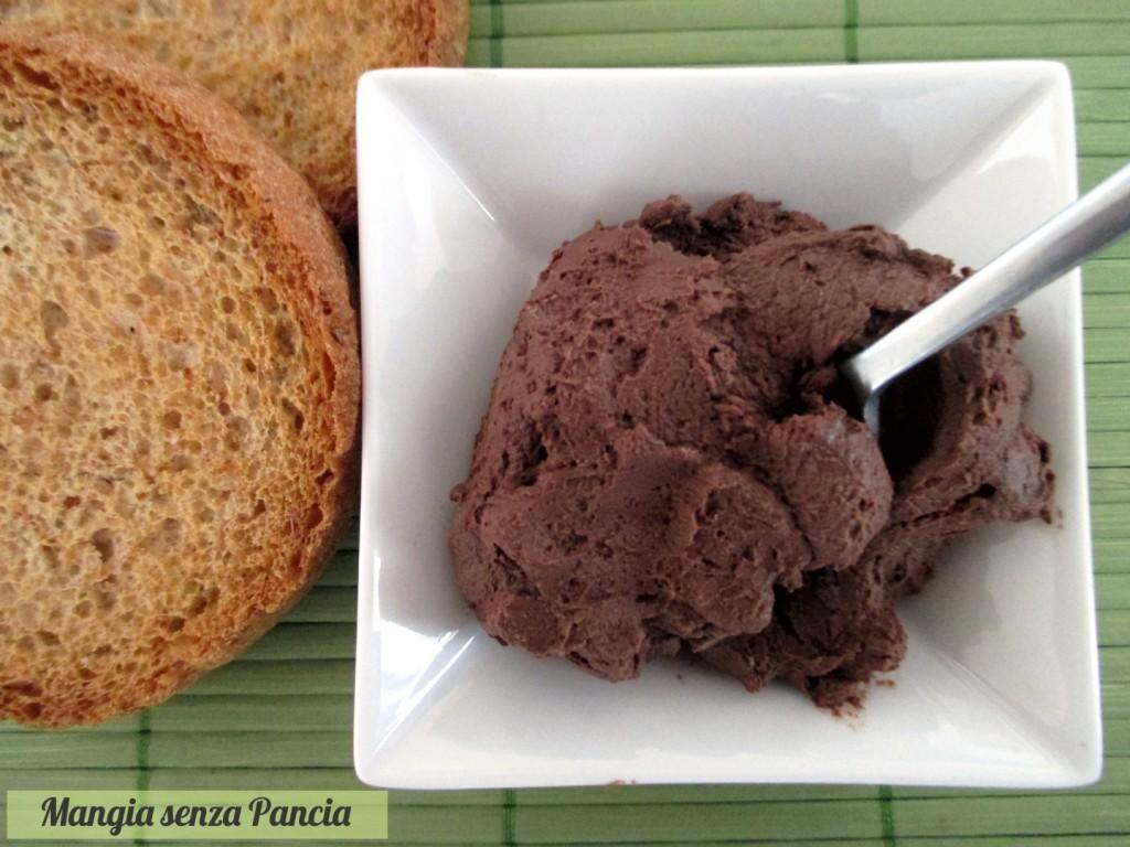 Crema cacao e ricotta light senza cottura, Mangia senza Pancia