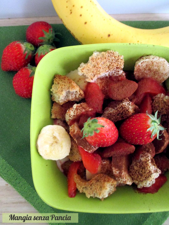 Favorito Yogurt e frutta con cacao e fette biscottate - Mangia senza Pancia GE16