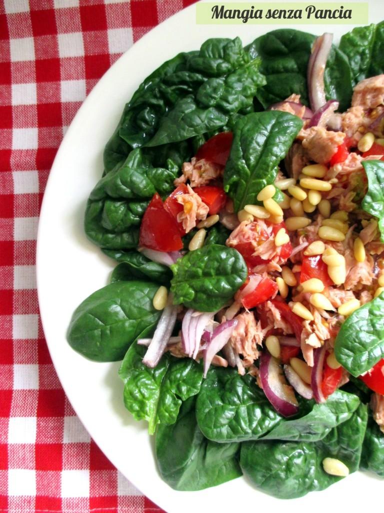 Insalata spinaci freschi e tonno, Mangia senza Pancia