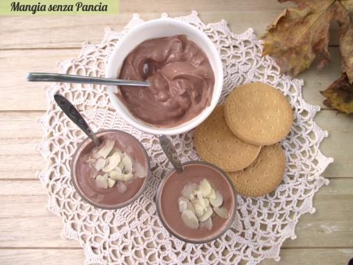 Crema di yogurt al cioccolato light, Mangia senza Pancia