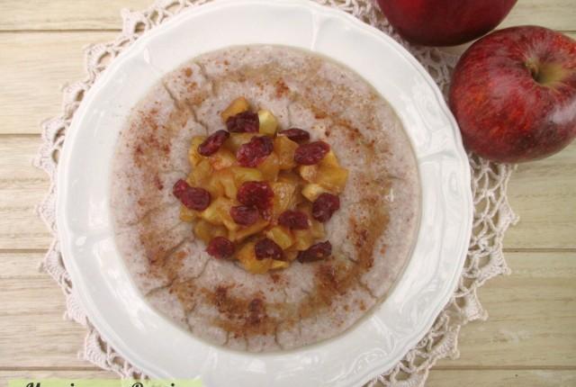 Porridge light vegano e senza glutine