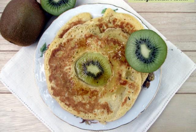 Pancakes light con kiwi sfiziosi