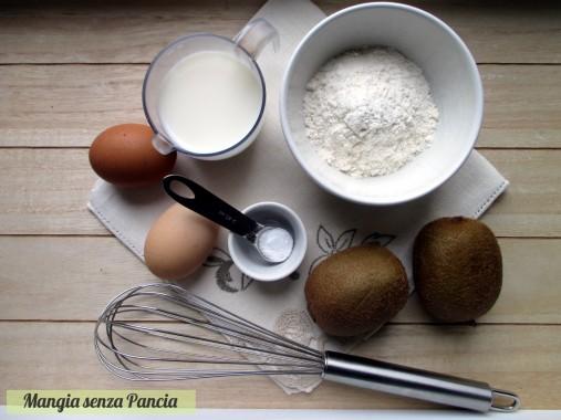 Pancakes light con kiwi sfiziosi, Mangia senza Pancia