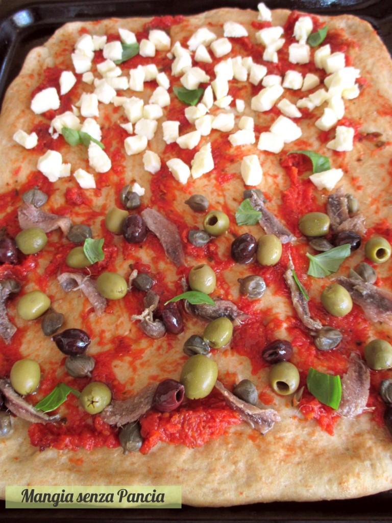 Pizza, Salsa per pizza light, ricetta base, Mangia senza Pancia