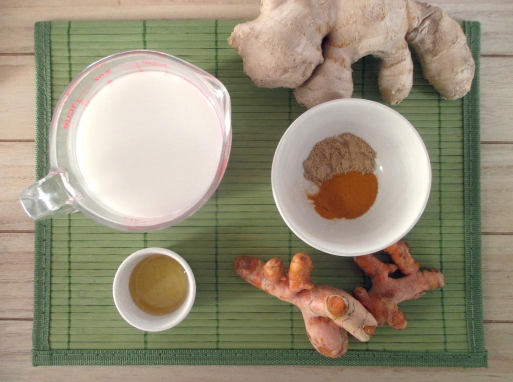 Latte di curcuma facile - latte d'oro - golden milk, Mangia senza Pancia