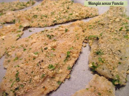 Filetti di pesce gratinati light, Mangia senza Pancia