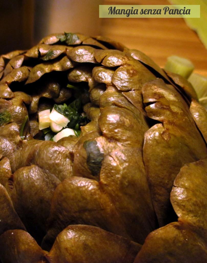 Le mammarelle ovvero i carciofi olio e sale, Mangia senza pancia