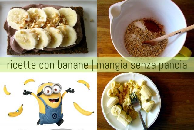 Ricette con le banane, Mangia senza Pancia