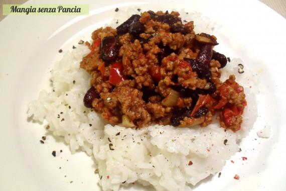 Chili con carne light, ricetta Tex-Mex
