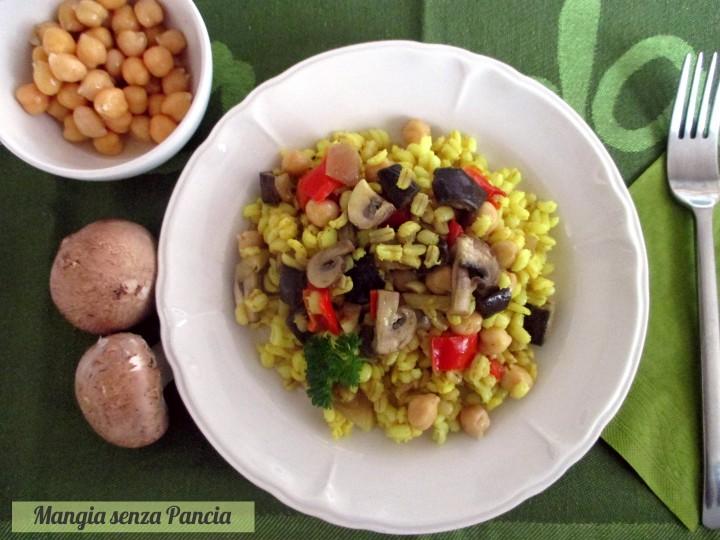 Orzo con verdure light all'orientale, Mangia senza Pancia