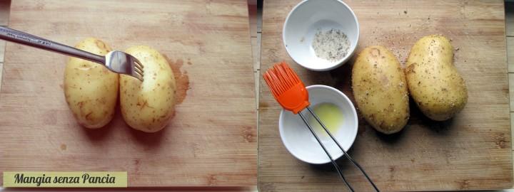 Jacket potato con formaggio e funghi, Mangia senza Pancia