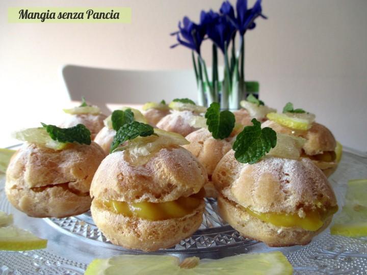 Bignè al limone light, Mangia senza Pancia