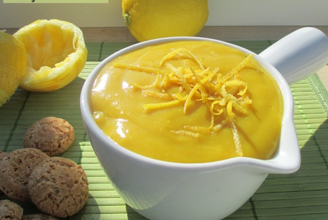 Crema al limone vegan