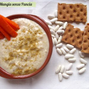 Salsa di fagioli bianchi speziata