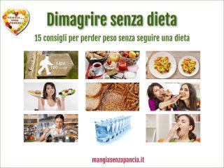 Dimagrire senza dieta, Mangia senza Pancia