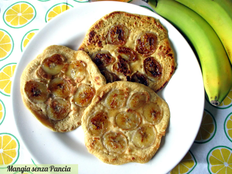 Pancake alla banana light