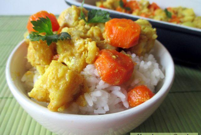 Filetti di pesce al latte di cocco, Mangia senza Pancia