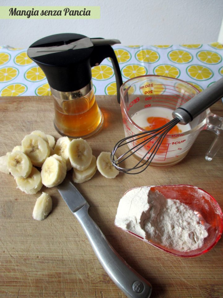 Pancake alla banana light, Mangia senza Pancia