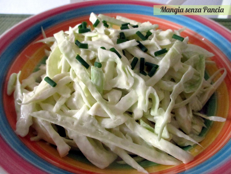 Insalata di cavolo e finocchi: il coleslaw