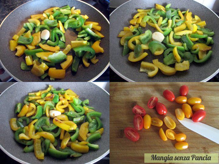 Pasta fredda con pesce e peperoni, Mangia senza Pancia