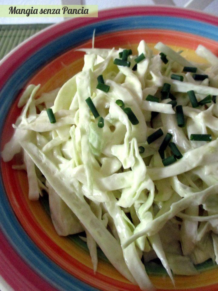 Insalata di cavolo e finocchi coleslaw, Mangia senza Pancia