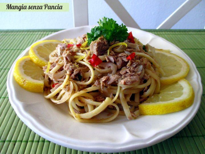 Pasta tonno e limone leggera, Mangia senza Pancia