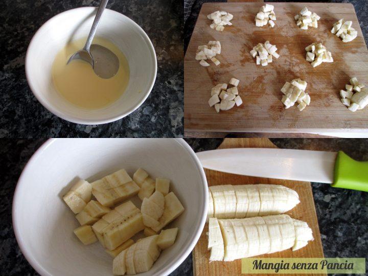Triangolini banana e cioccolato, Magia senza Pancia